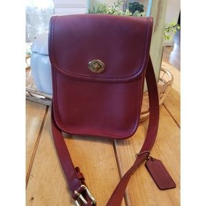 Vintage Coach Small Side Pack Bag